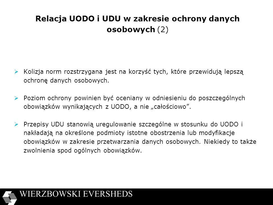 Relacja UODO i UDU w zakresie ochrony danych osobowych (2)