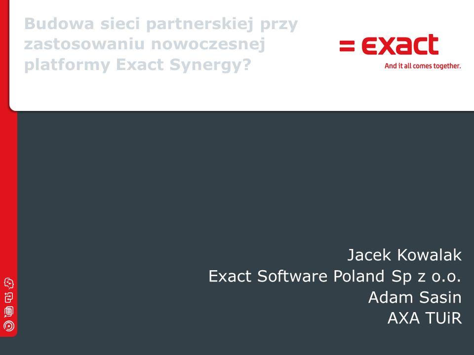 Exact Software Poland Sp z o.o. Adam Sasin AXA TUiR