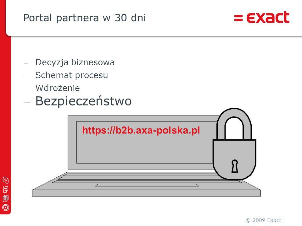 Bezpieczeństwo Portal partnera w 30 dni https://b2b.axa-polska.pl
