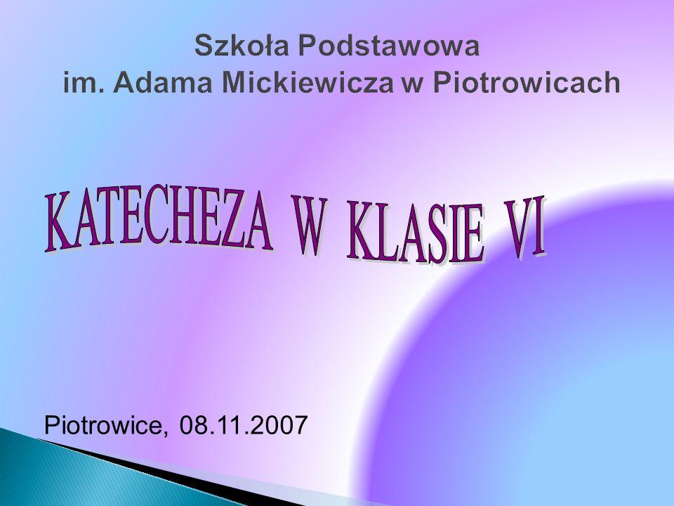 Szkoła Podstawowa im. Adama Mickiewicza w Piotrowicach