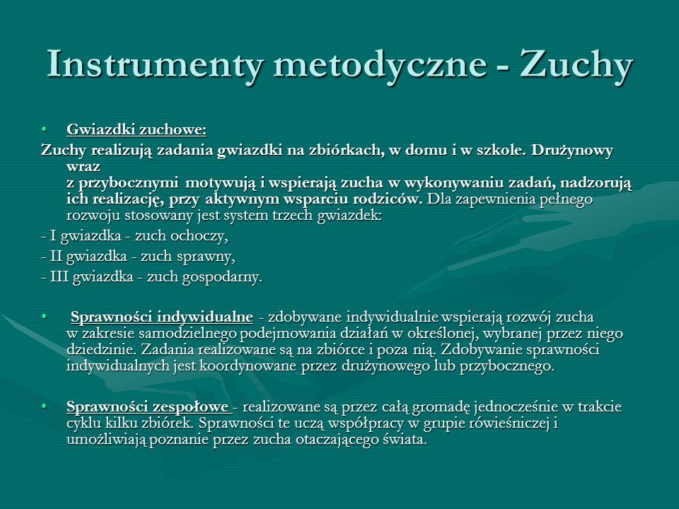 Instrumenty metodyczne - Zuchy