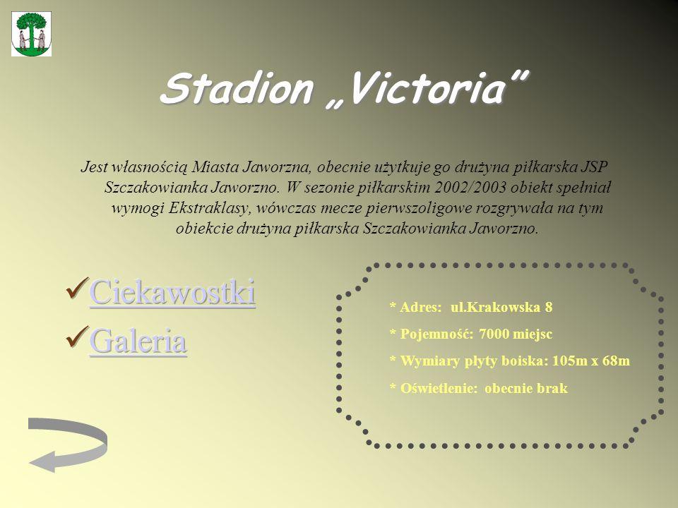 "Stadion ""Victoria Ciekawostki Galeria"
