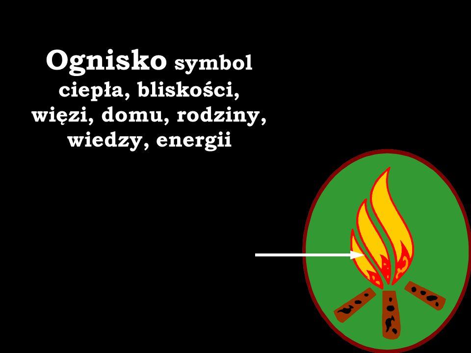 Ognisko symbol ciepła, bliskości, więzi, domu, rodziny, wiedzy, energii