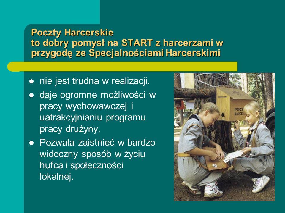 Poczty Harcerskie to dobry pomysł na START z harcerzami w przygodę ze Specjalnościami Harcerskimi