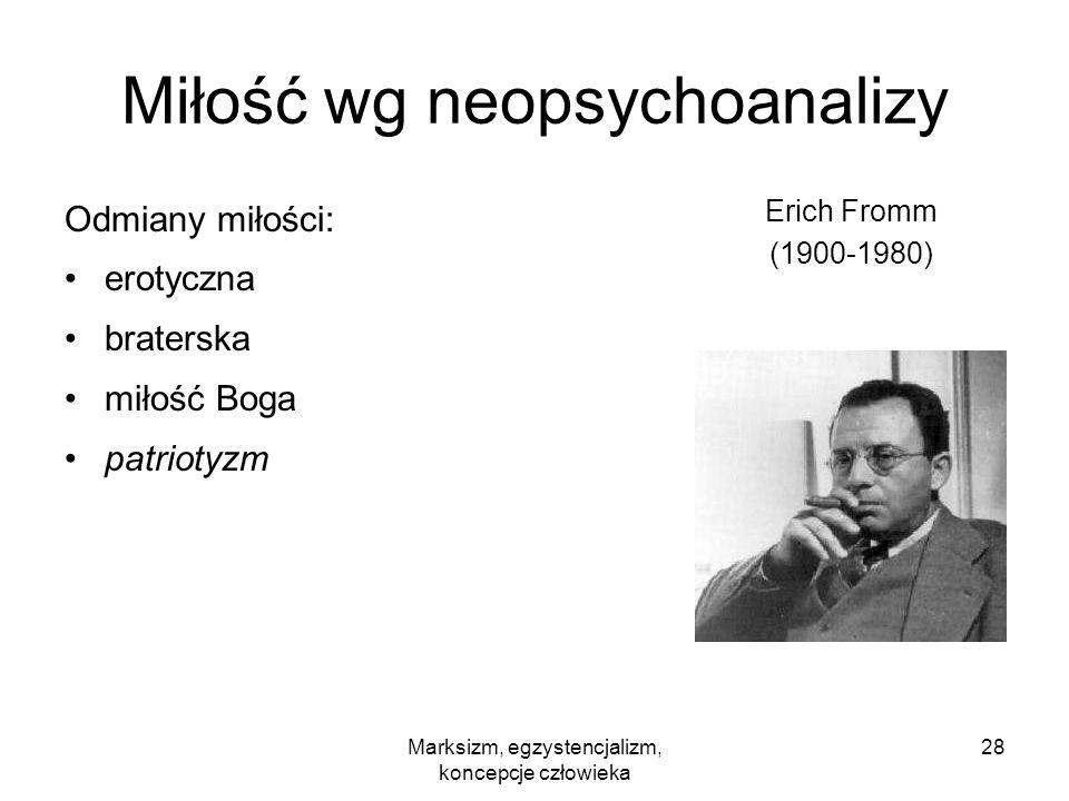 Miłość wg neopsychoanalizy