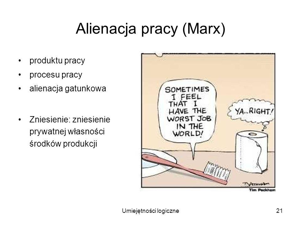 Alienacja pracy (Marx)