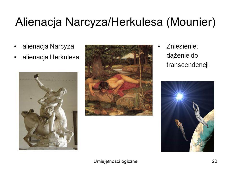 Alienacja Narcyza/Herkulesa (Mounier)