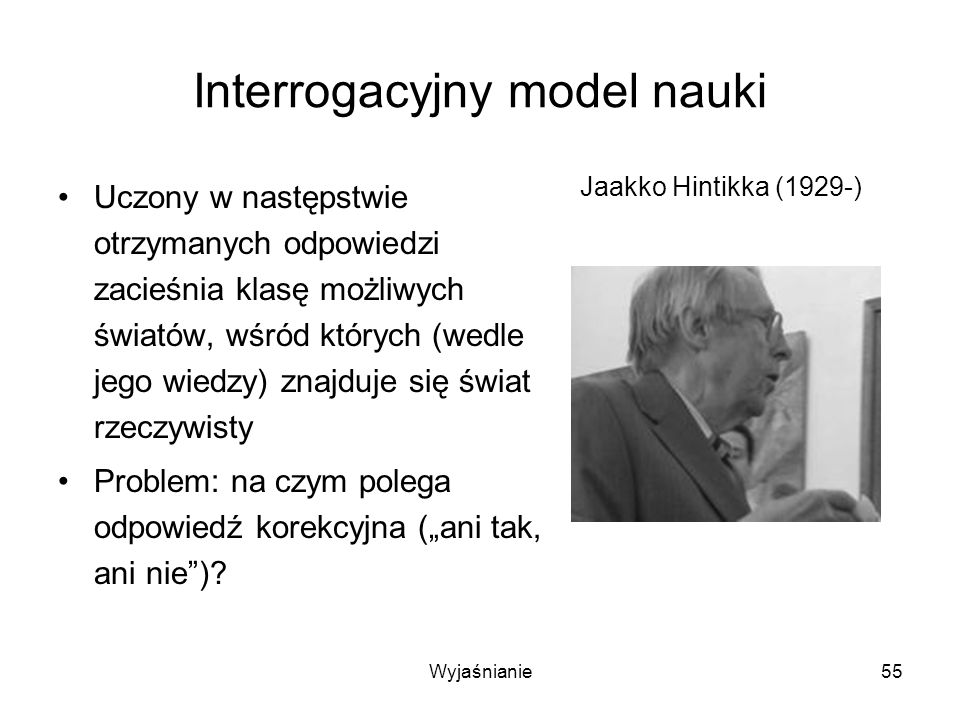 Interrogacyjny model nauki