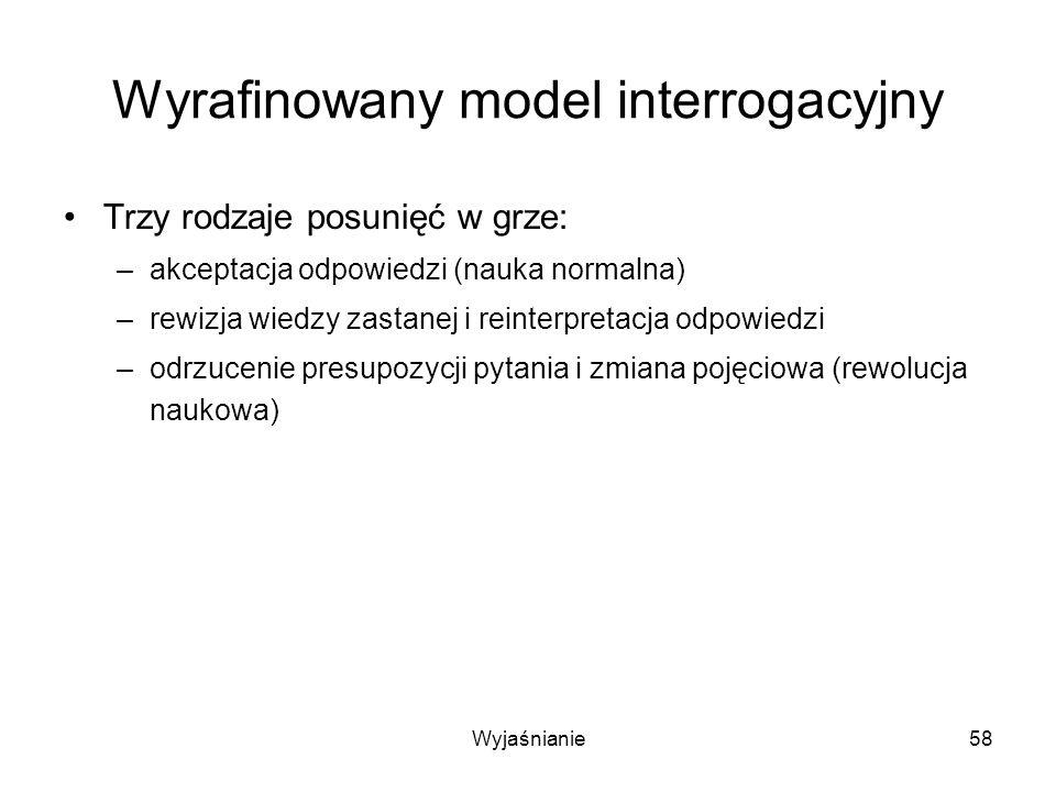 Wyrafinowany model interrogacyjny