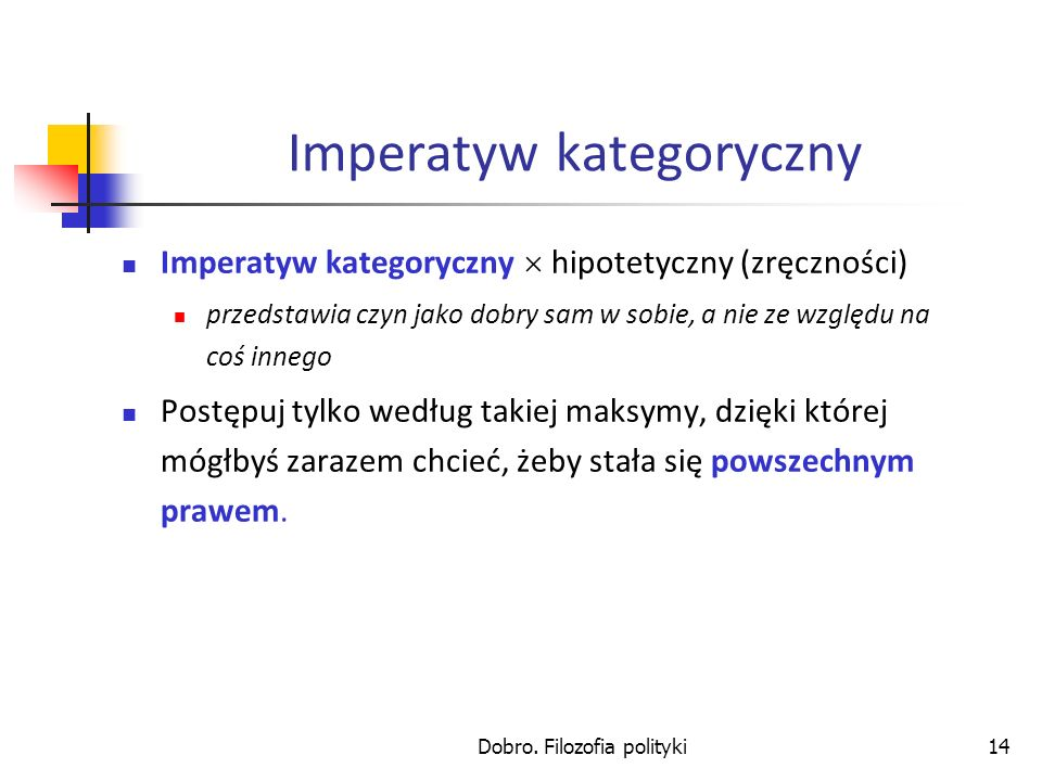 Imperatyw kategoryczny