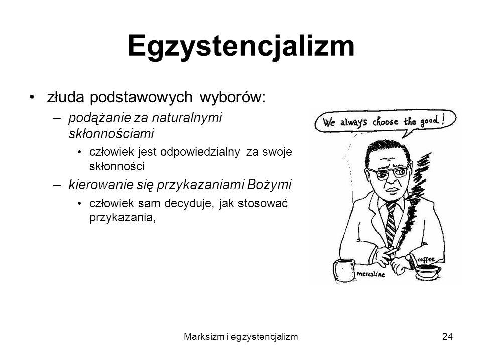 Marksizm i egzystencjalizm