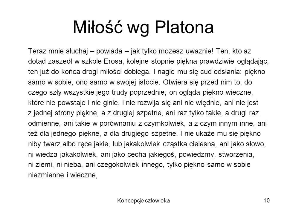 Miłość wg Platona
