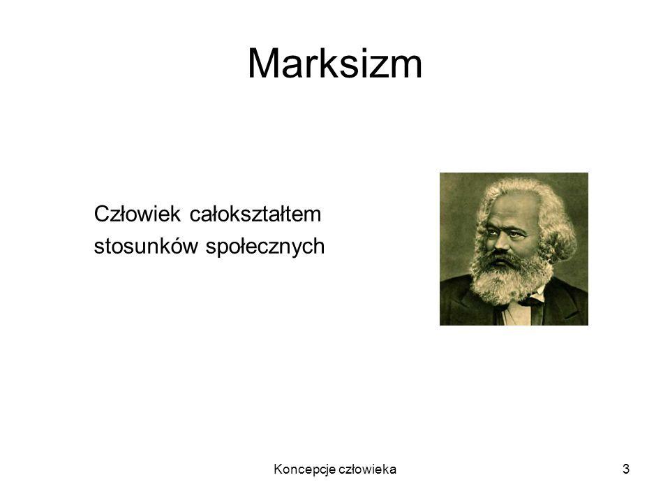 Marksizm Człowiek całokształtem stosunków społecznych
