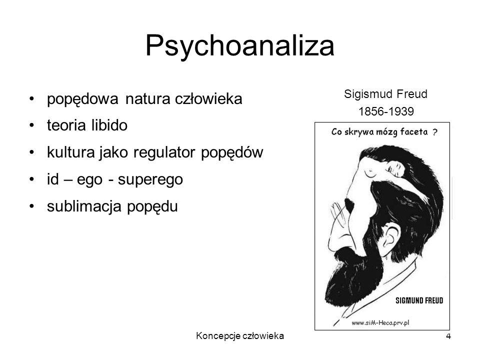 Psychoanaliza popędowa natura człowieka teoria libido