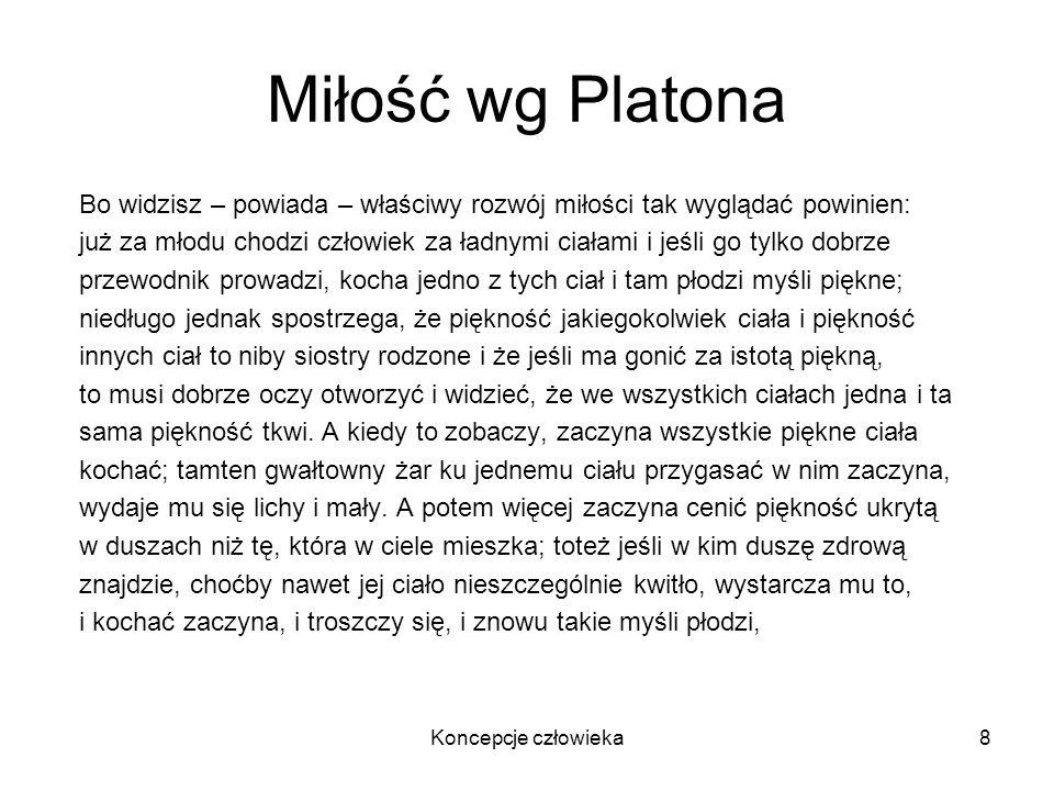 Miłość wg PlatonaBo widzisz – powiada – właściwy rozwój miłości tak wyglądać powinien: