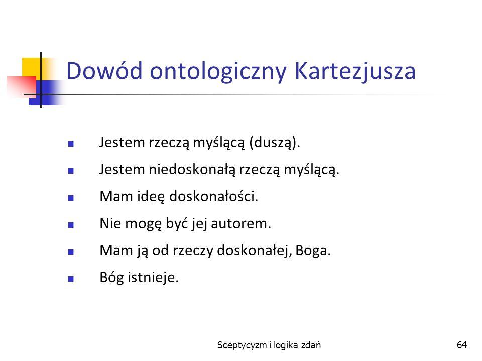 Dowód ontologiczny Kartezjusza