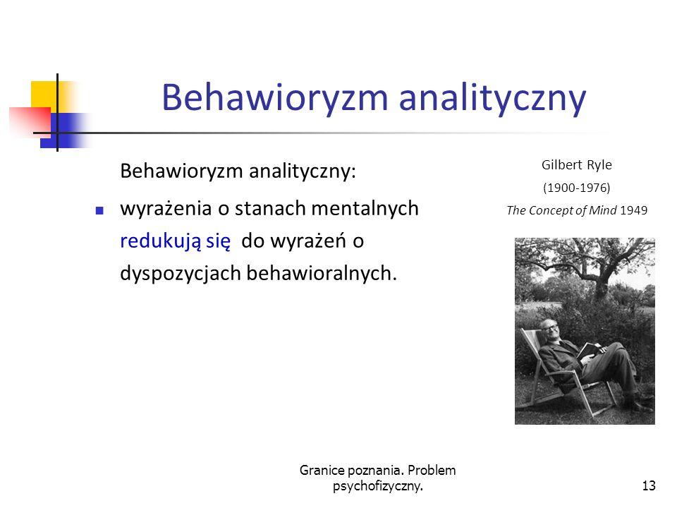 Behawioryzm analityczny
