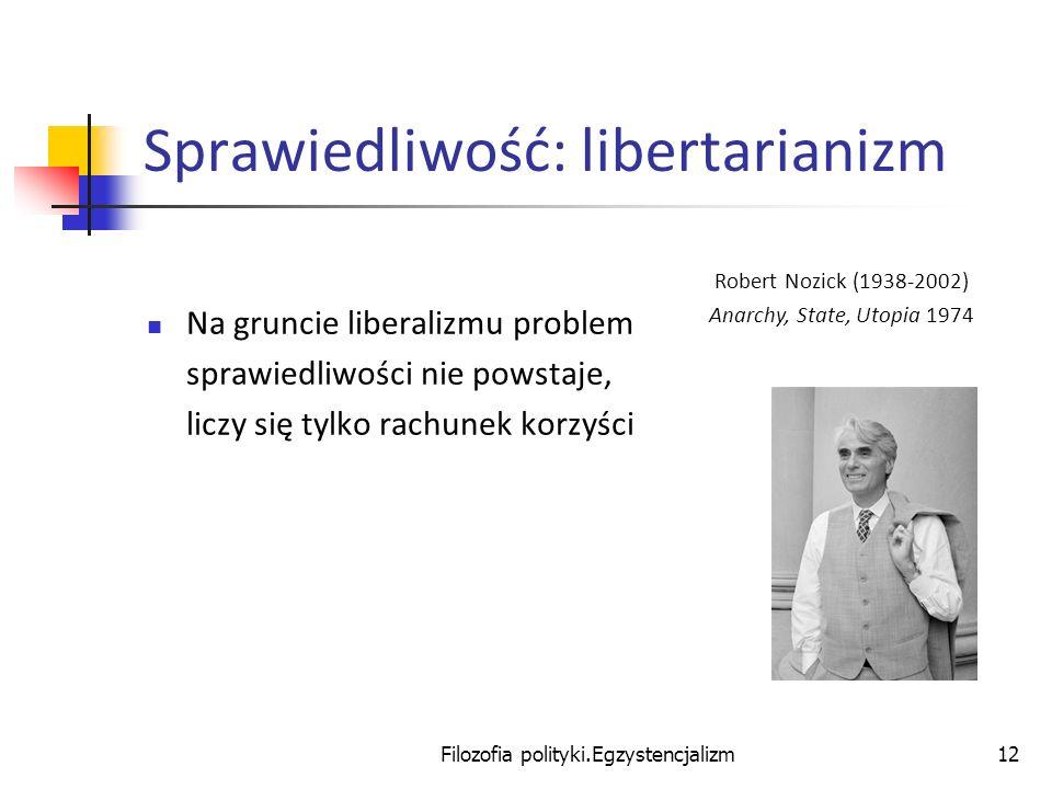 Sprawiedliwość: libertarianizm