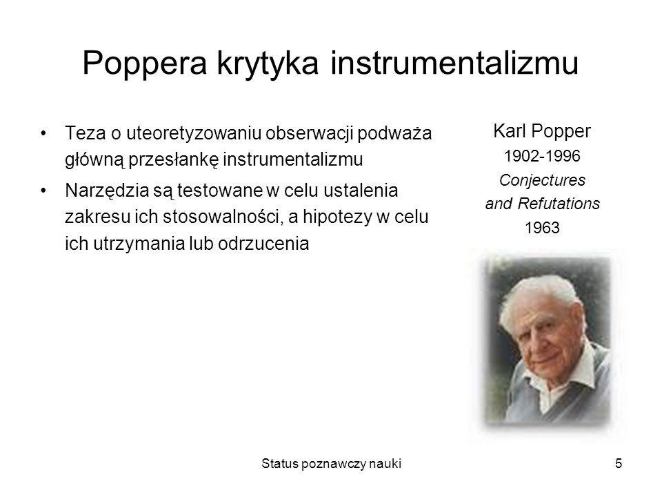 Poppera krytyka instrumentalizmu