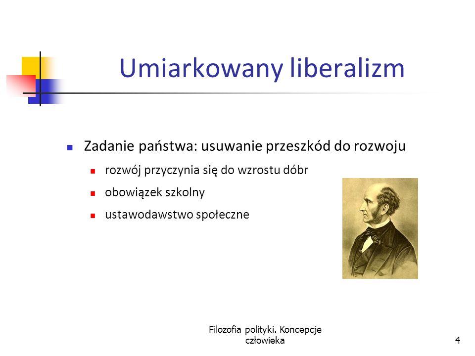 Umiarkowany liberalizm