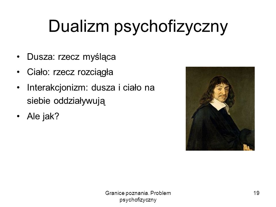Dualizm psychofizyczny