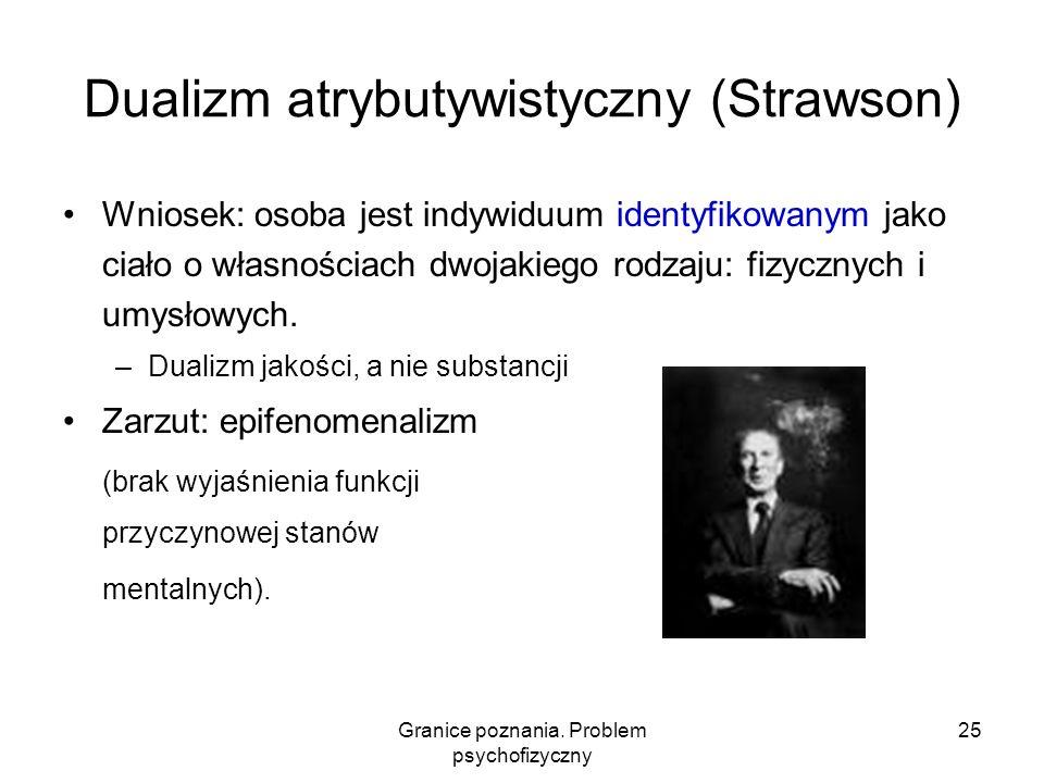 Dualizm atrybutywistyczny (Strawson)