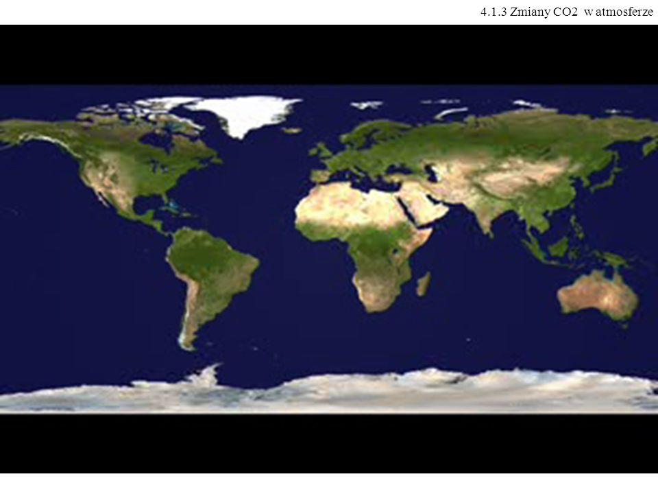 4.1.3 Zmiany CO2 w atmosferze