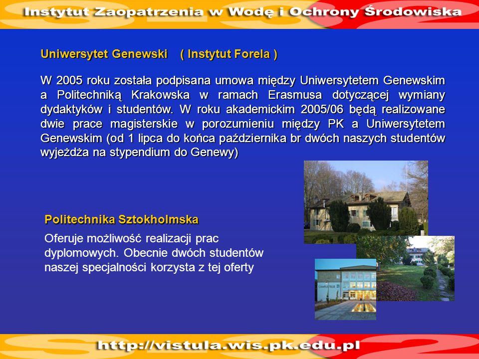 Uniwersytet Genewski( Instytut Forela )