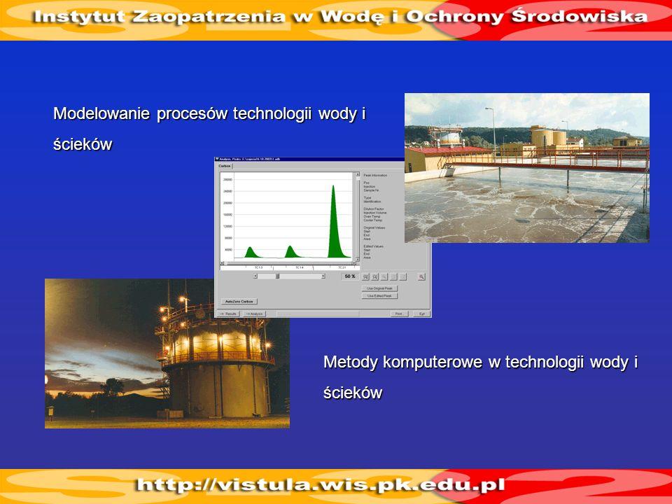 Modelowanie procesów technologii wody i