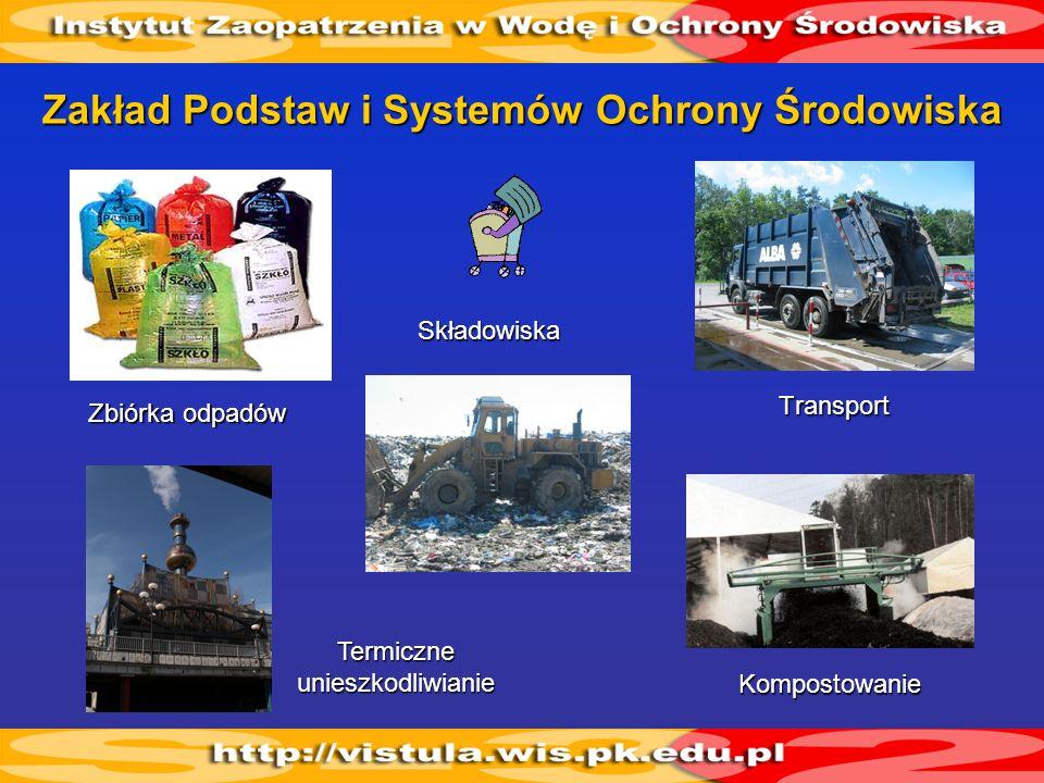 Zakład Podstaw i Systemów Ochrony Środowiska