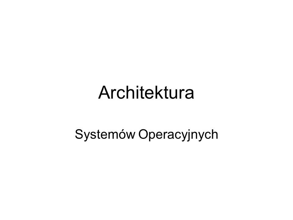 Systemów Operacyjnych