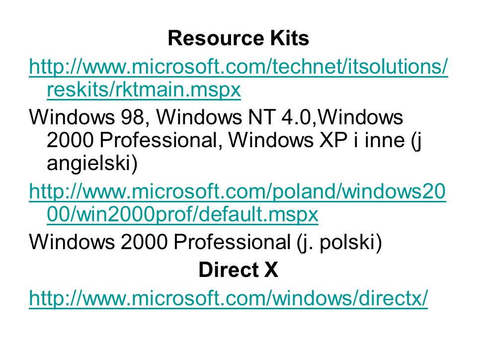 Resource Kits http://www.microsoft.com/technet/itsolutions/reskits/rktmain.mspx.