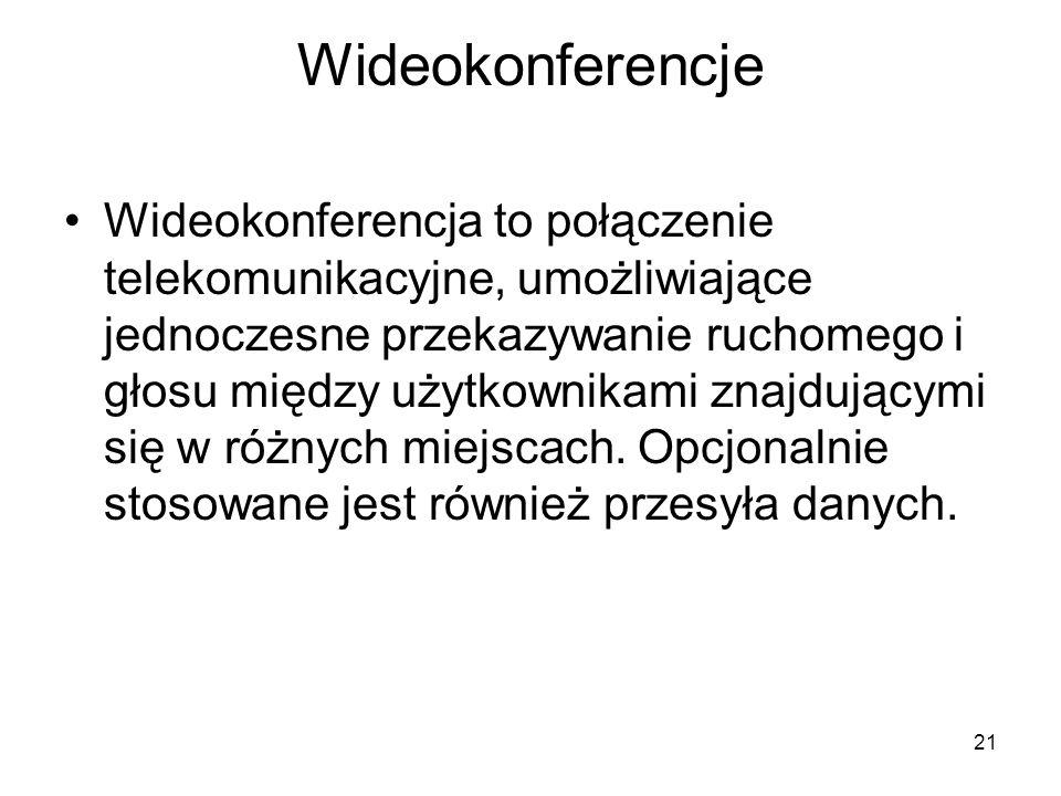 Wideokonferencje