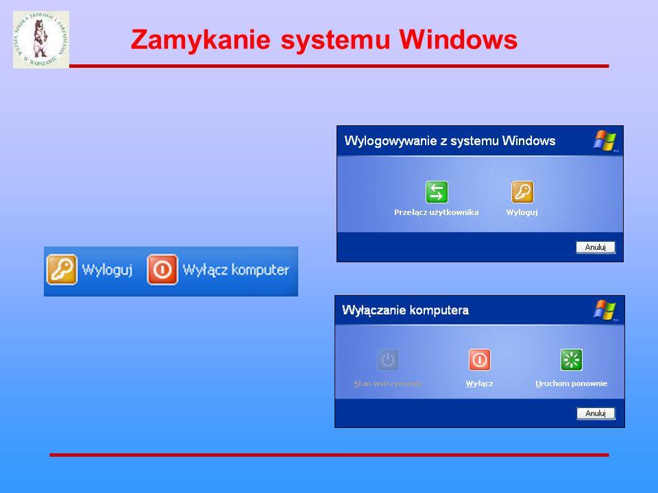 Zamykanie systemu Windows