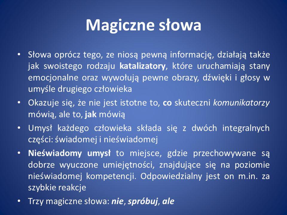 Magiczne słowa