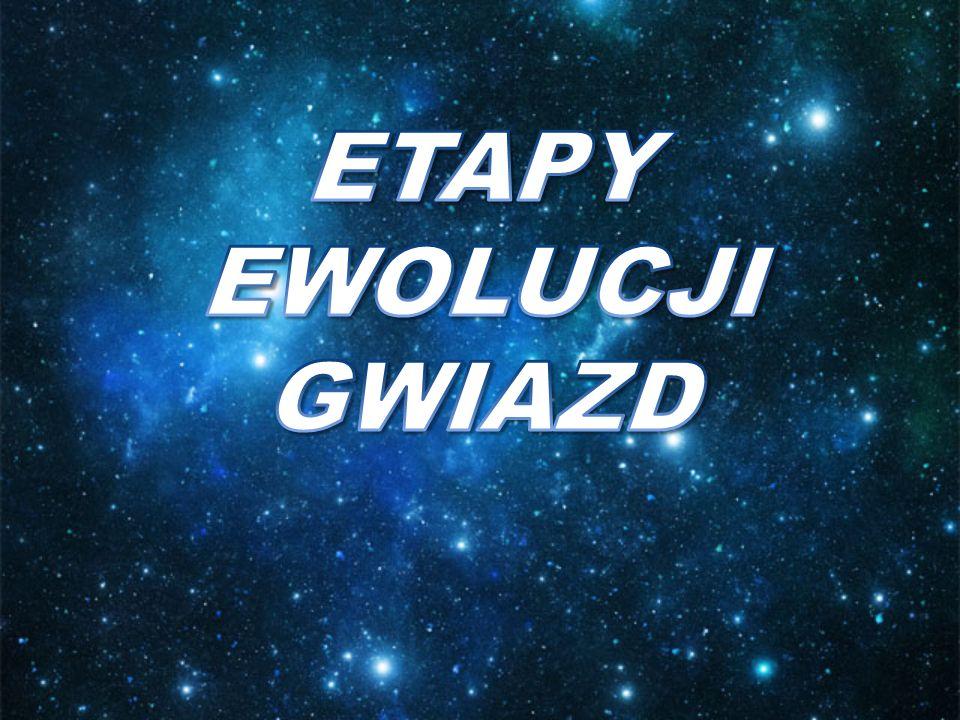 ETAPY EWOLUCJI GWIAZD