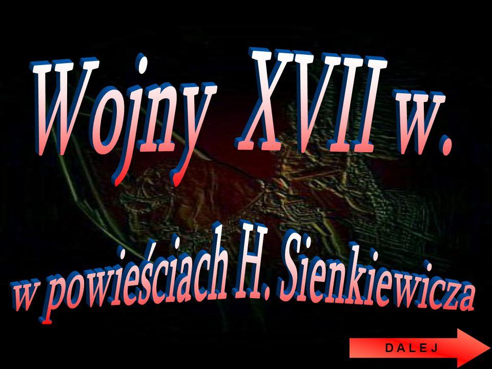 w powieściach H. Sienkiewicza