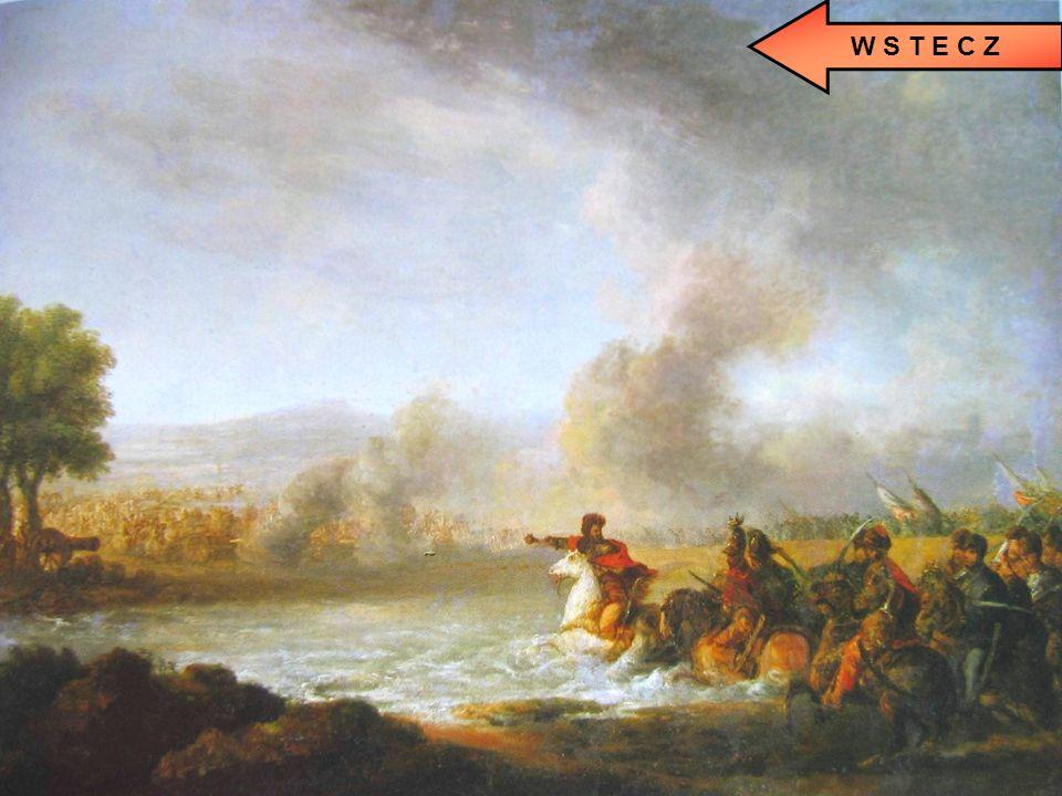 Czarniecki w bitwie pod Warką