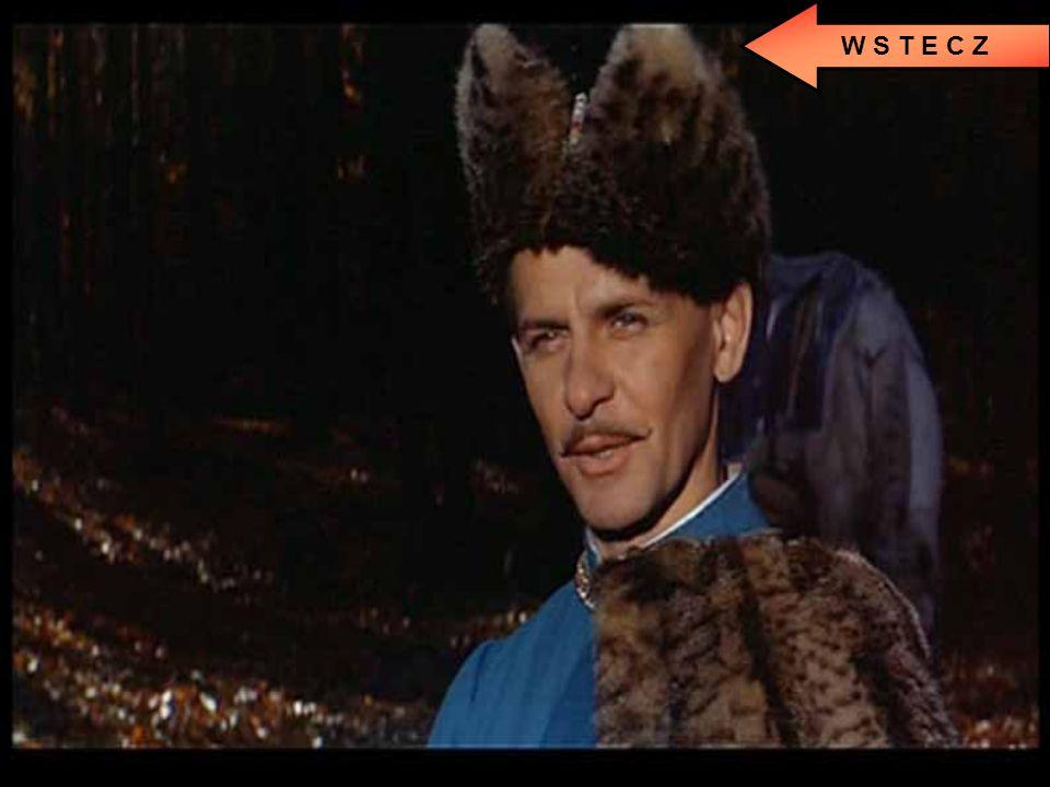 """Kadr z filmu """"Pan Wołodyjowski"""