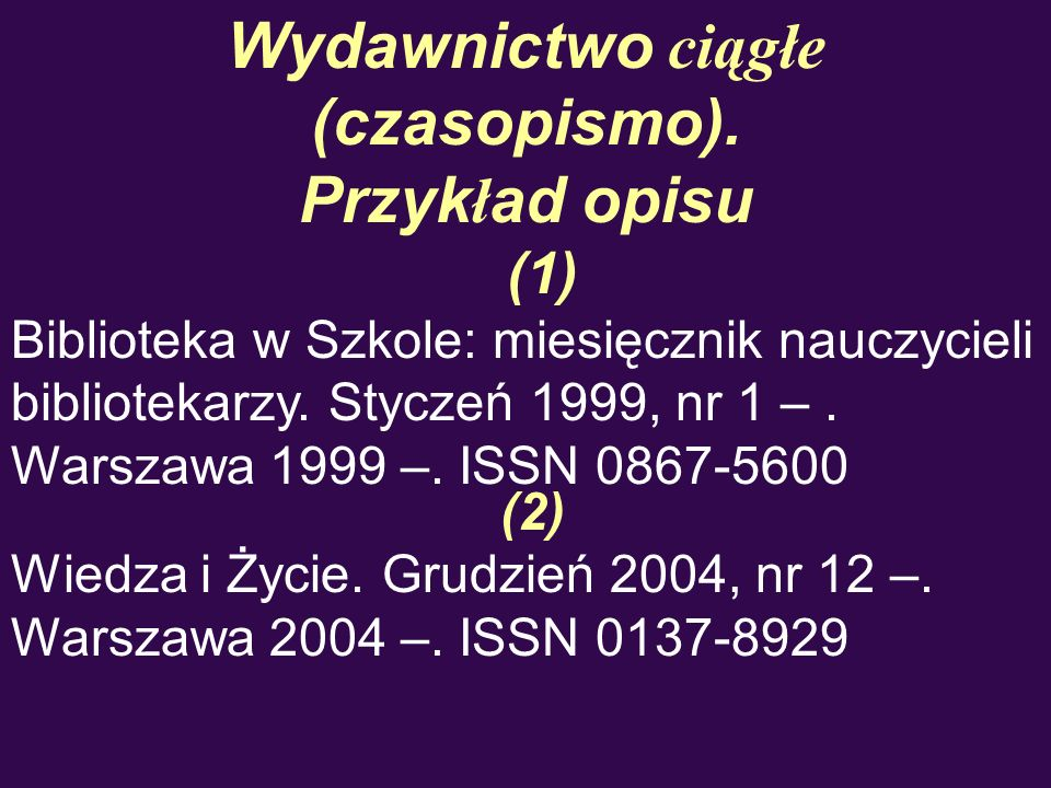 Wydawnictwo ciągłe (czasopismo).