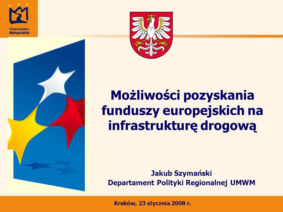 Możliwości pozyskania funduszy europejskich na infrastrukturę drogową
