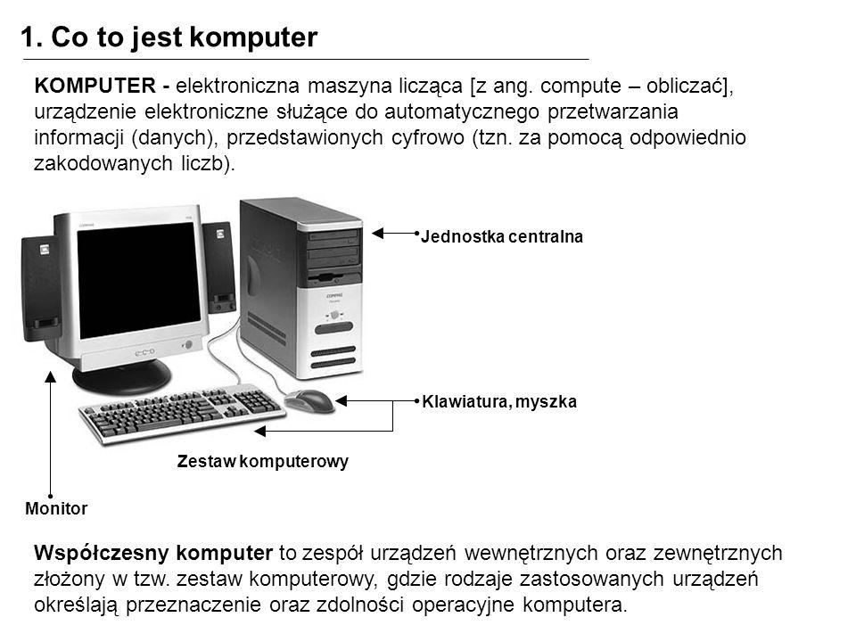1. Co to jest komputer