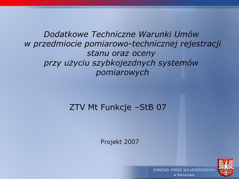 Dodatkowe Techniczne Warunki Umów