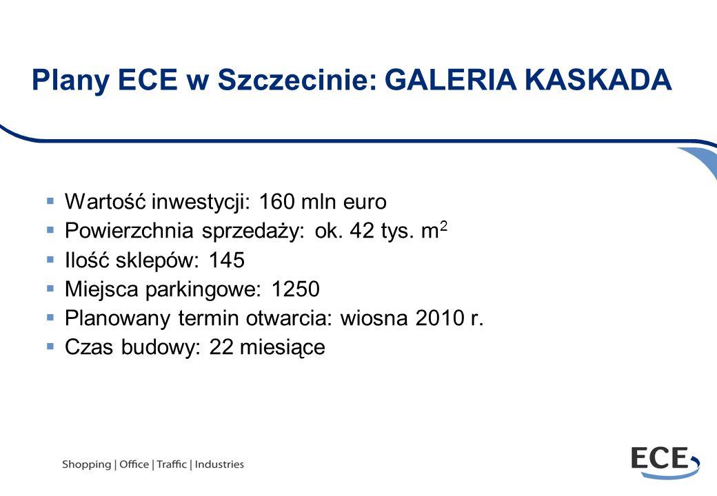 Plany ECE w Szczecinie: GALERIA KASKADA
