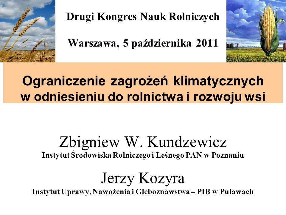 Zbigniew W. Kundzewicz Jerzy Kozyra