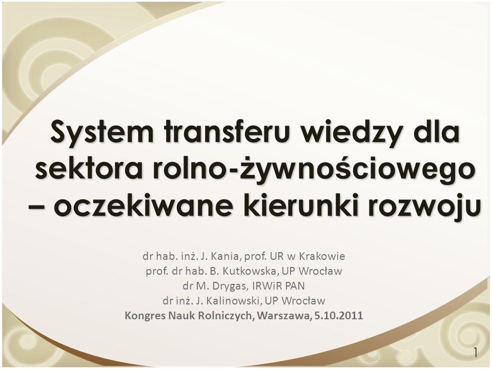 Kongres Nauk Rolniczych, Warszawa, 5.10.2011