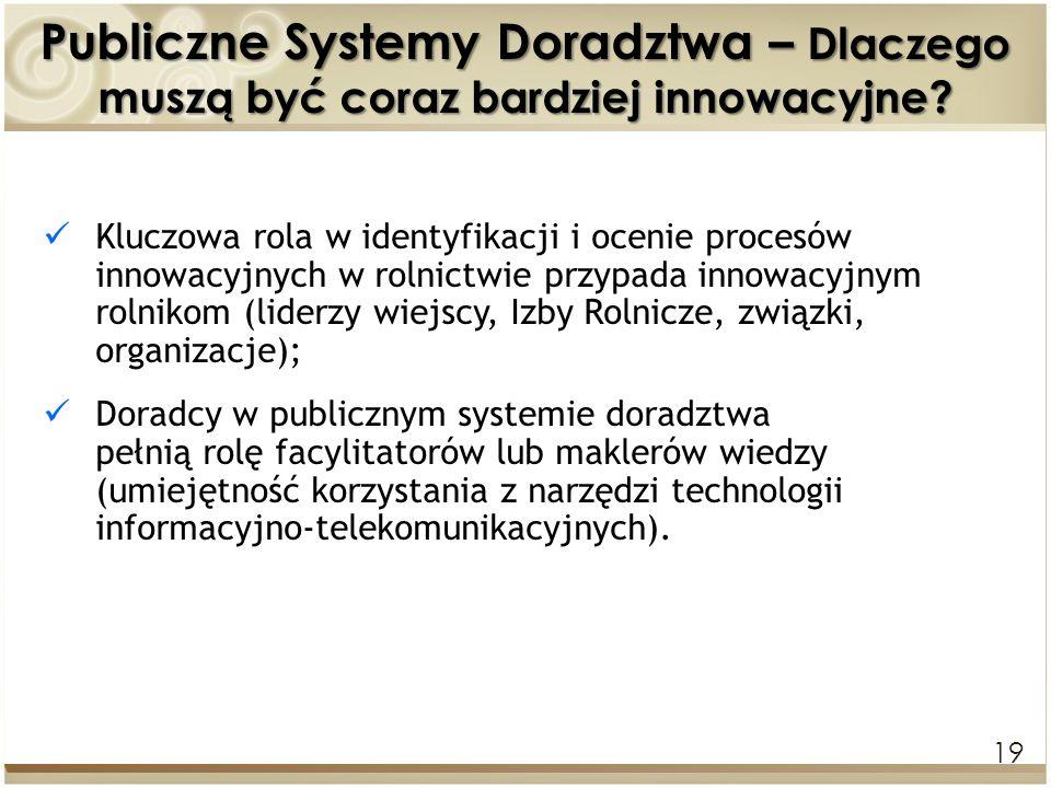 Publiczne Systemy Doradztwa – Dlaczego muszą być coraz bardziej innowacyjne