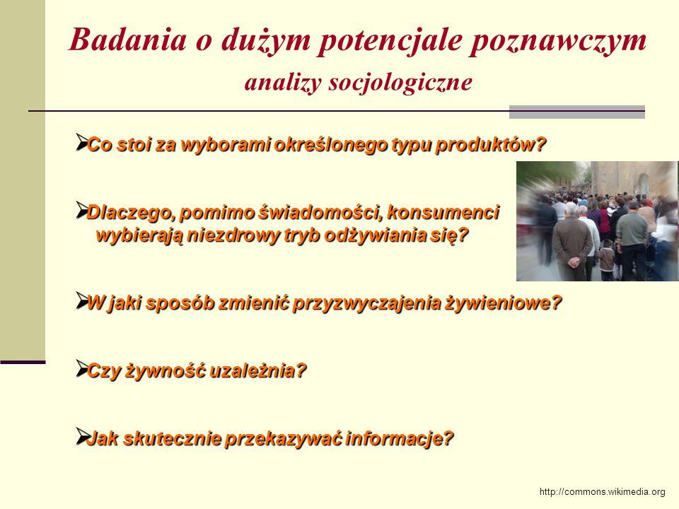 analizy socjologiczne