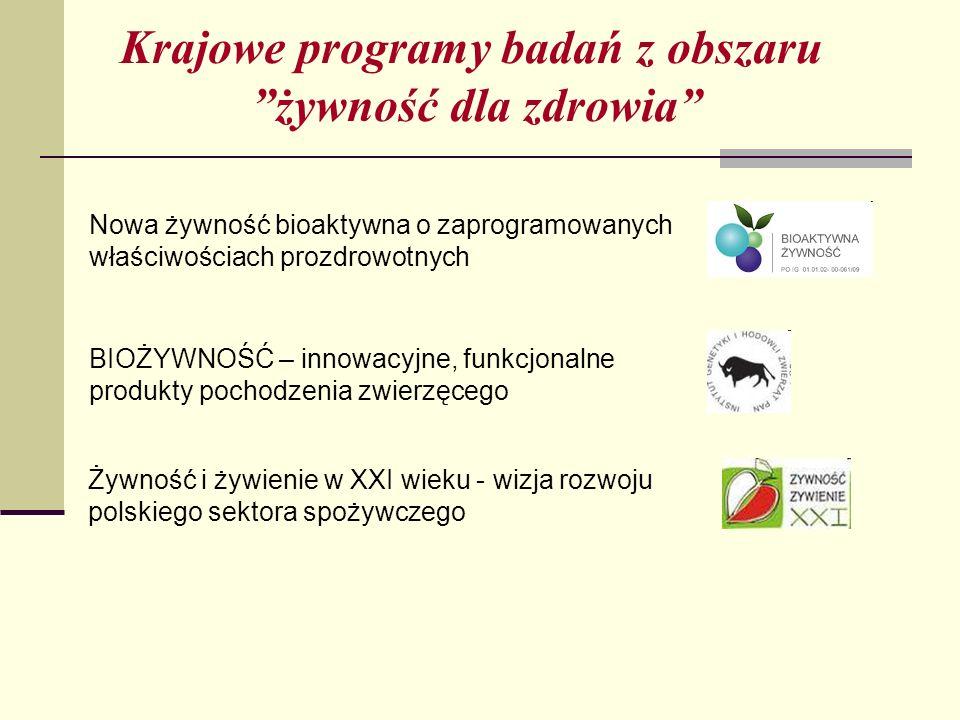 Krajowe programy badań z obszaru