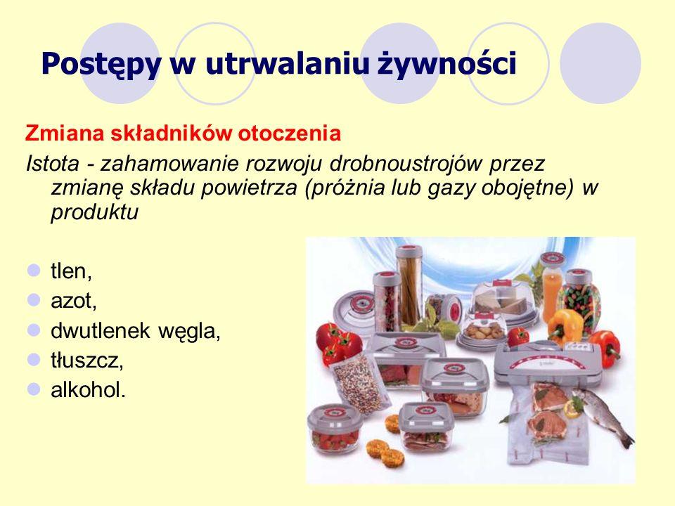 Postępy w utrwalaniu żywności